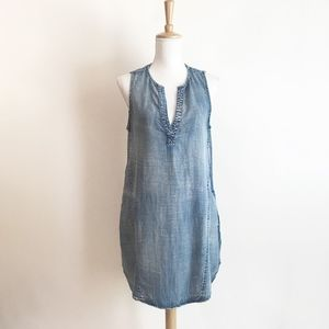Cloth and Stone Stone Washed Chambray Dress
